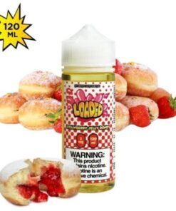 Strawberry Jelly Donut 120 ml by Loaded