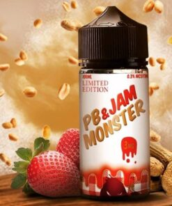 Authentic Strawberry by PB & Jam Monster E-Juice - 100ml