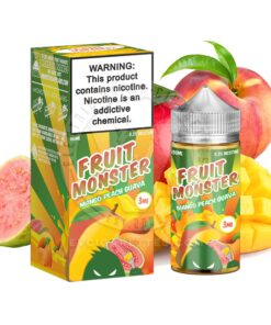 Authentic Mango Peach Guava by Fruit Monster - 100ml -