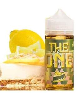 Authentic Lemon Crumble by The ONE - 100ml - 3MG