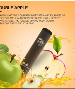 Double Apple by Tugboat Disposable -V2 (pack of 3)
