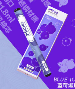 Blue Ice Micko Disposable Vaporizer By Veiik