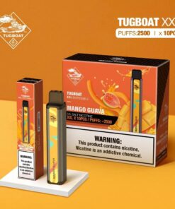 TUGBOAT XXL Vape Disposable Pod Device 2500 Puffs (1pc/Pack)